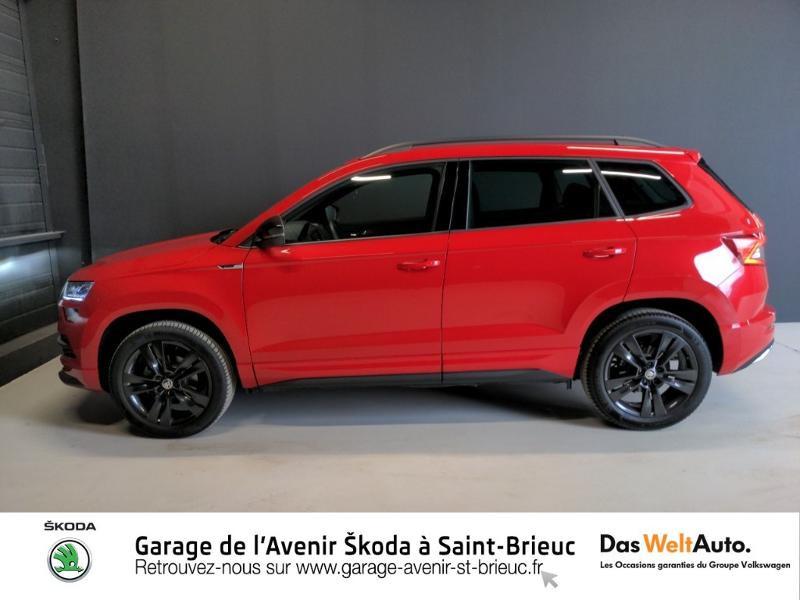 Photo 4 de l'offre de SKODA Karoq 1.5 TSI ACT 150ch Sportline DSG Euro6d-T à 29490€ chez Sélection Auto - Volkswagen Saint Brieuc
