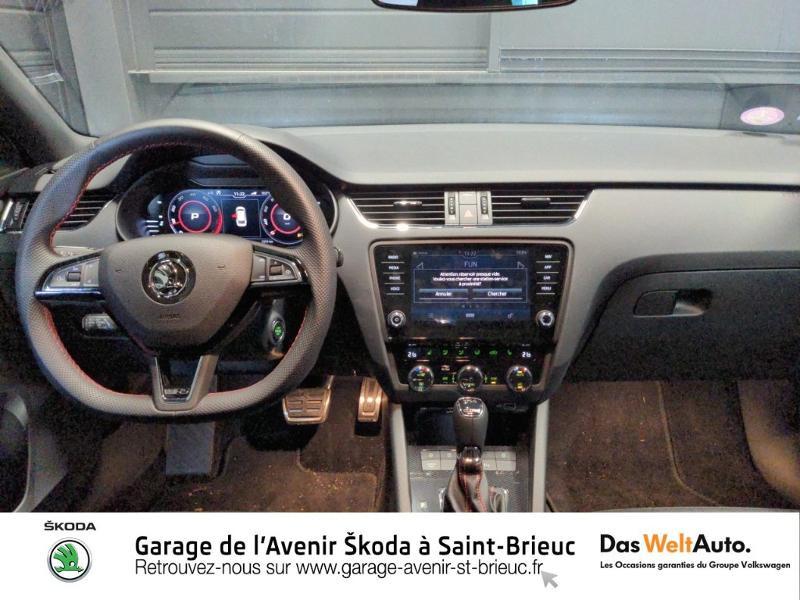 Photo 7 de l'offre de SKODA Octavia Break 2.0 TSI 245ch RS DSG7 Euro6d-T à 31790€ chez Sélection Auto - Volkswagen Saint Brieuc