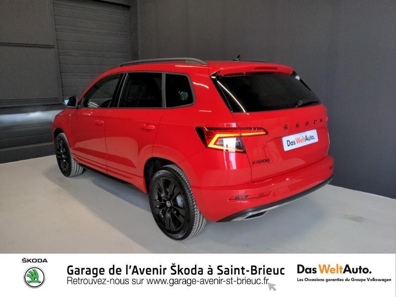 Photo 3 de l'offre de SKODA Karoq 1.5 TSI ACT 150ch Sportline DSG Euro6d-T à 29490€ chez Sélection Auto - Volkswagen Saint Brieuc
