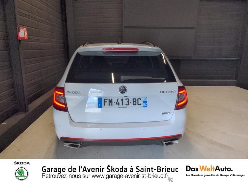 Photo 6 de l'offre de SKODA Octavia Break 2.0 TSI 245ch RS DSG7 Euro6d-T à 31790€ chez Sélection Auto - Volkswagen Saint Brieuc