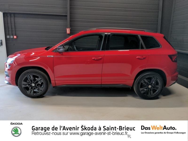 Photo 2 de l'offre de SKODA Karoq 1.5 TSI ACT 150ch Sportline DSG Euro6d-T à 29490€ chez Sélection Auto - Volkswagen Saint Brieuc
