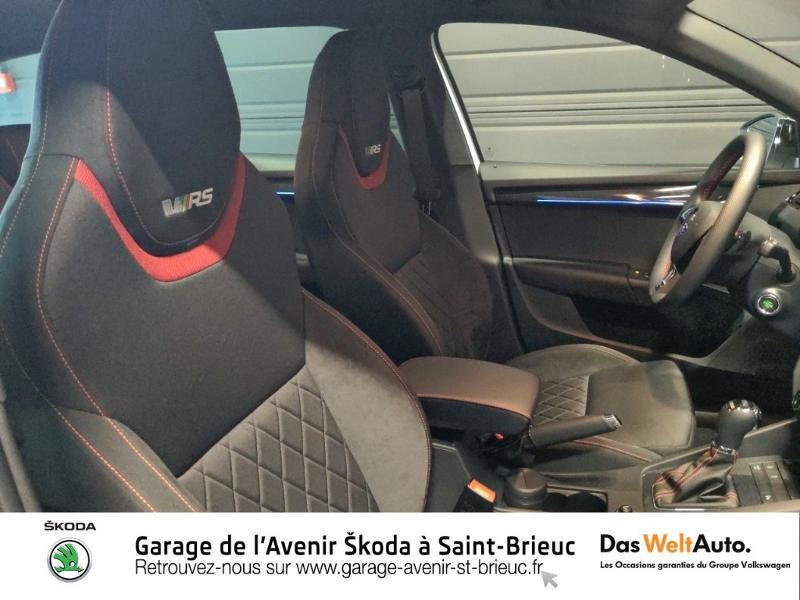 Photo 14 de l'offre de SKODA Octavia Break 2.0 TSI 245ch RS DSG7 Euro6d-T à 31790€ chez Sélection Auto - Volkswagen Saint Brieuc