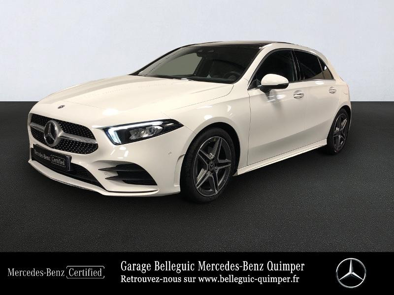 Photo 1 de l'offre de MERCEDES-BENZ Classe A 180 136ch AMG Line à 34490€ chez Garage Belleguic - Mercedes-Benz Quimper