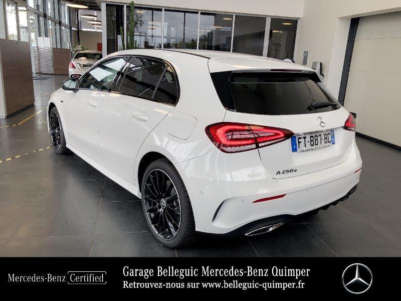 Photo 3 de l'offre de MERCEDES-BENZ Classe A 250 e 160+102ch AMG Line 8G-DCT à 42999€ chez Garage Belleguic - Mercedes-Benz Quimper