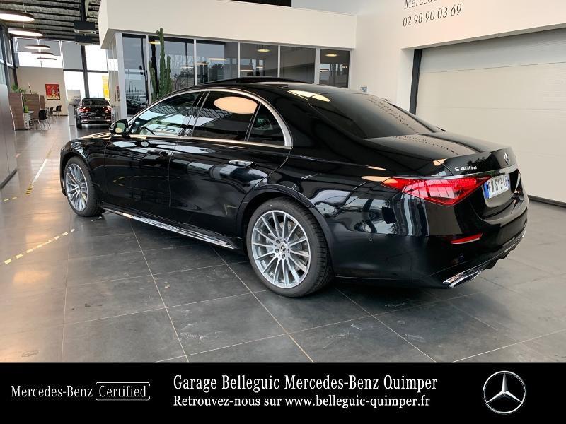 Photo 3 de l'offre de MERCEDES-BENZ Classe S 400 d 330ch AMG Line 4Matic 9G-Tronic à 119900€ chez Garage Belleguic - Mercedes-Benz Quimper