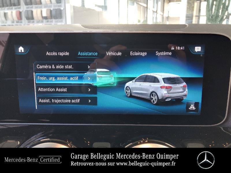 Photo 23 de l'offre de MERCEDES-BENZ Classe B 180 136ch Progressive Line à 30790€ chez Garage Belleguic - Mercedes-Benz Quimper