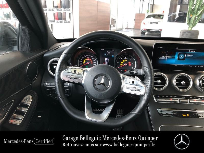 Photo 7 de l'offre de MERCEDES-BENZ Classe C Break 200 d 160ch AMG Line 9G-Tronic à 36390€ chez Garage Belleguic - Mercedes-Benz Quimper