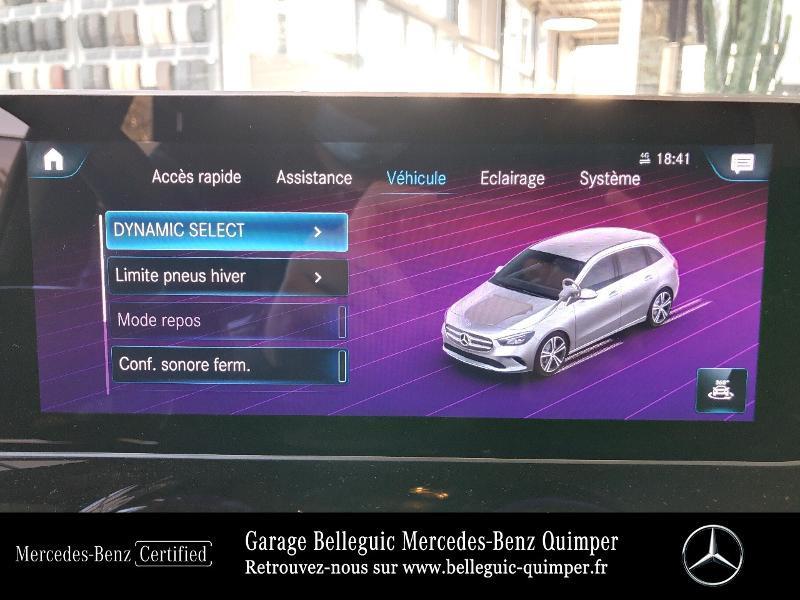 Photo 24 de l'offre de MERCEDES-BENZ Classe B 180 136ch Progressive Line à 30790€ chez Garage Belleguic - Mercedes-Benz Quimper