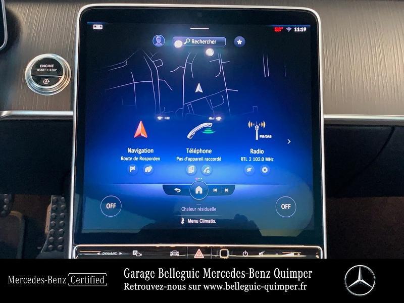 Photo 8 de l'offre de MERCEDES-BENZ Classe S 400 d 330ch AMG Line 4Matic 9G-Tronic à 119900€ chez Garage Belleguic - Mercedes-Benz Quimper