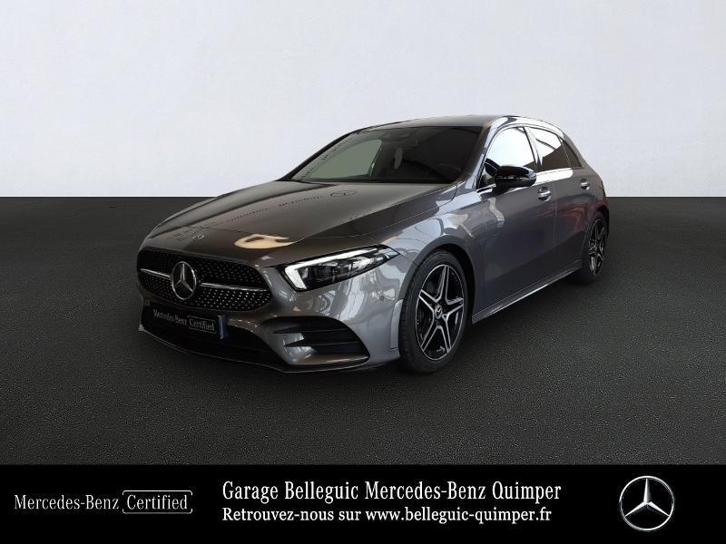 Mercedes-Benz Classe A 180 d 116ch AMG Line 7G-DCT Diesel Gris Montagne métal Occasion à vendre