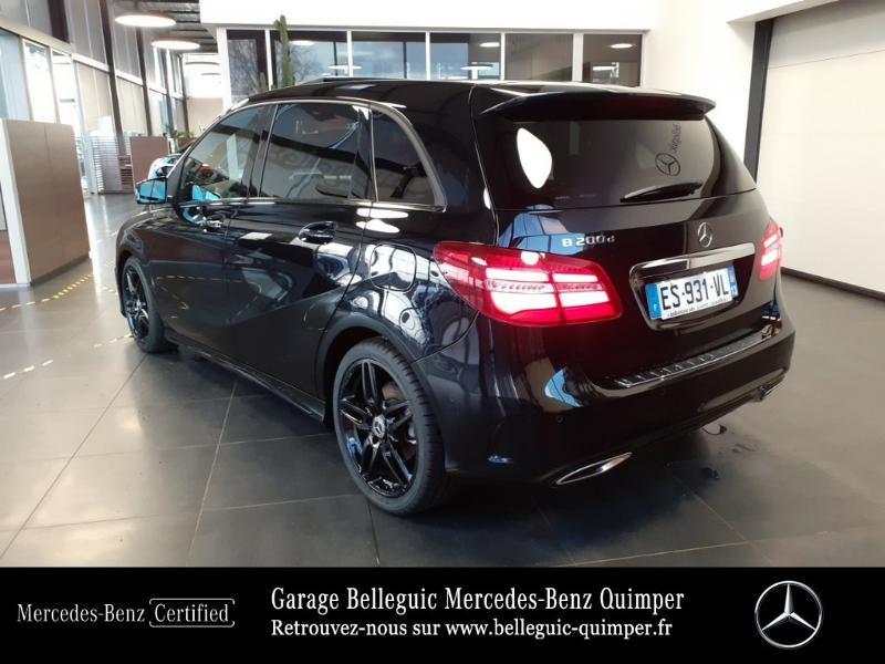 Photo 3 de l'offre de MERCEDES-BENZ Classe B 200 d Fascination 7G-DCT à 24290€ chez Garage Belleguic - Mercedes-Benz Quimper