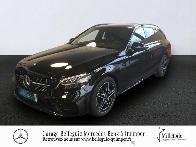 Photo 1 de l'offre de MERCEDES-BENZ Classe C Break 220 d 194ch AMG Line 9G-Tronic à 42999€ chez Garage Belleguic - Mercedes-Benz Quimper