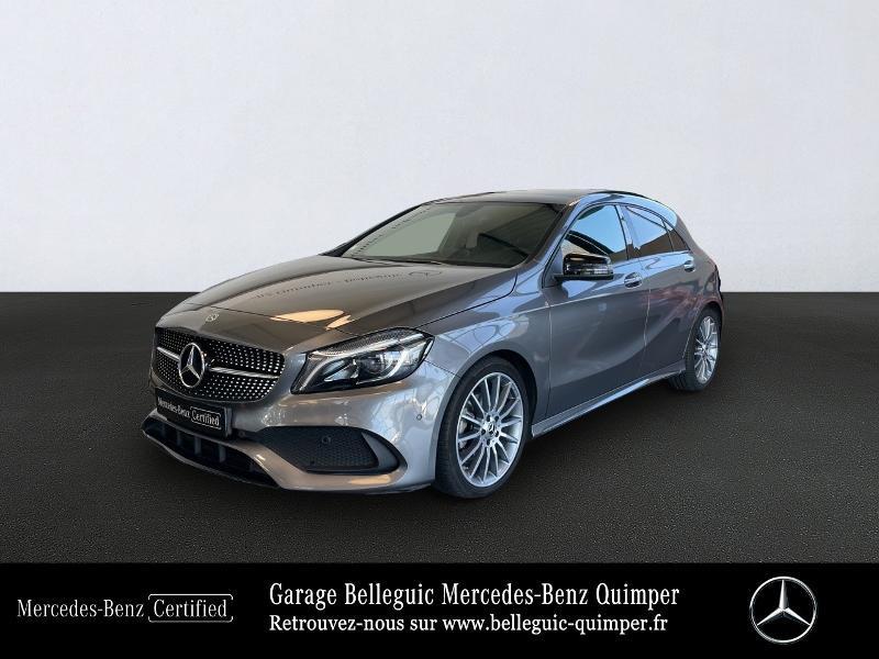 Mercedes-Benz Classe A 200 Sport Edition 7G-DCT Essence gris montagne Occasion à vendre