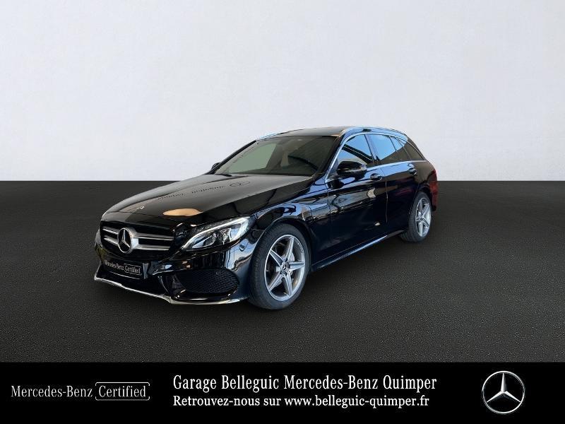 Mercedes-Benz Classe C Break 180 d Sportline 7G-Tronic Plus Diesel Noir Occasion à vendre