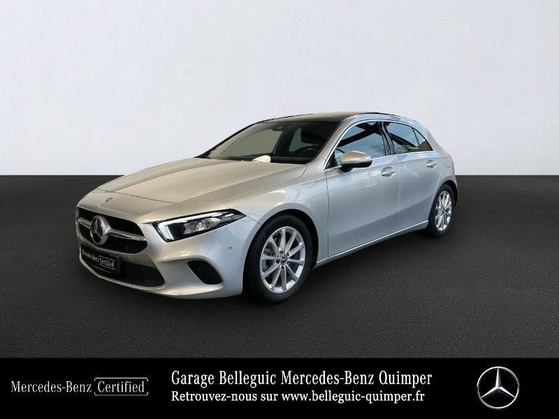 Mercedes-Benz Classe A 180 d 116ch Progressive Line 7G-DCT Diesel Argent Iridium métal Occasion à vendre