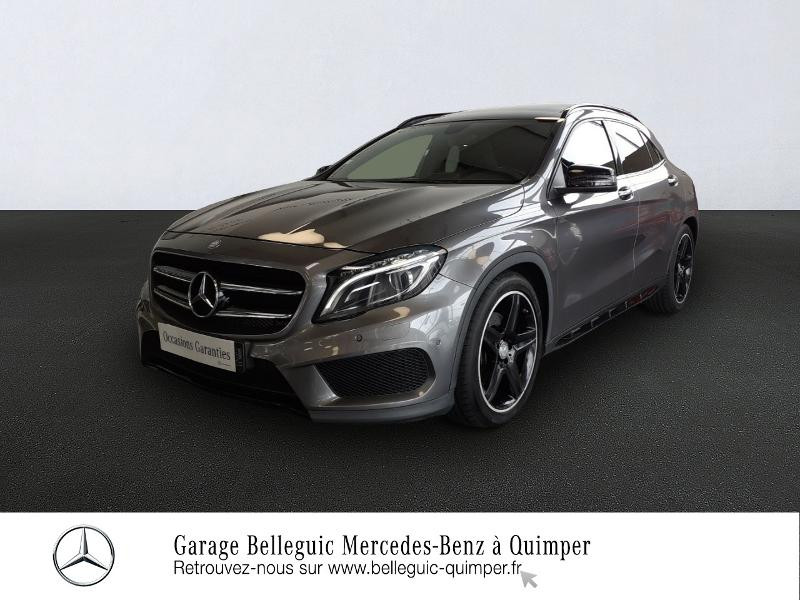 Mercedes-Benz Classe GLA 220 CDI Fascination 4Matic 7G-DCT Diesel Gris Montagne métal Occasion à vendre