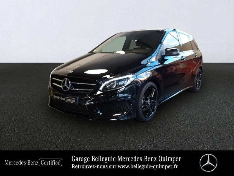 Photo 1 de l'offre de MERCEDES-BENZ Classe B 200 d Fascination 7G-DCT à 24290€ chez Garage Belleguic - Mercedes-Benz Quimper