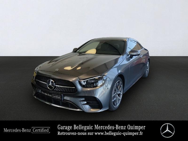 Mercedes-Benz Classe E Coupe 220 d 194ch AMG Line 9G-Tronic Diesel Gris Sélénite métal Occasion à vendre