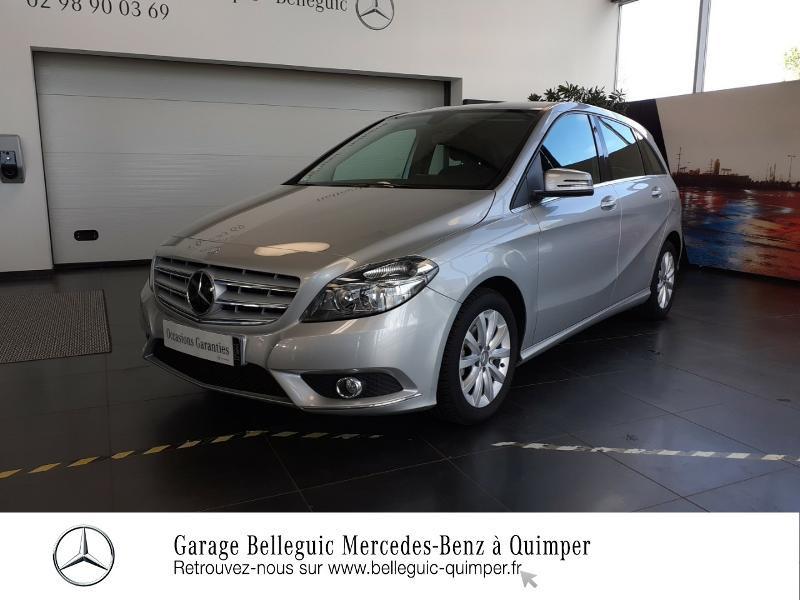 Photo 31 de l'offre de MERCEDES-BENZ Classe B 180 CDI Design 7G-DCT à 13890€ chez Garage Belleguic - Mercedes-Benz Quimper