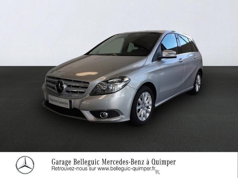 Photo 1 de l'offre de MERCEDES-BENZ Classe B 180 CDI Design 7G-DCT à 13890€ chez Garage Belleguic - Mercedes-Benz Quimper