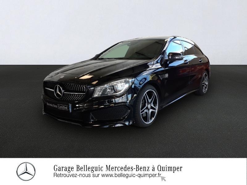 Photo 1 de l'offre de MERCEDES-BENZ CLA Shooting Brake 220 d Fascination 7G-DCT à 25890€ chez Garage Belleguic - Mercedes-Benz Quimper