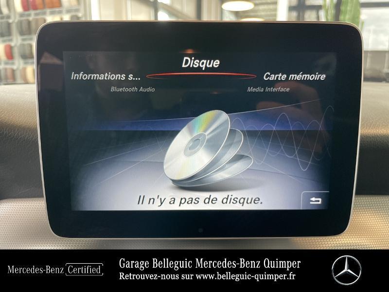 Photo 22 de l'offre de MERCEDES-BENZ Classe GLA 180 d Sensation 7G-DCT à 26390€ chez Garage Belleguic - Mercedes-Benz Quimper