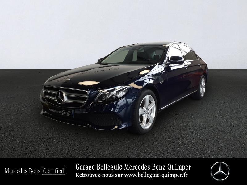 Mercedes-Benz Classe E 220 d 194ch Executive 9G-Tronic Diesel Bleu Cavansite métal Occasion à vendre