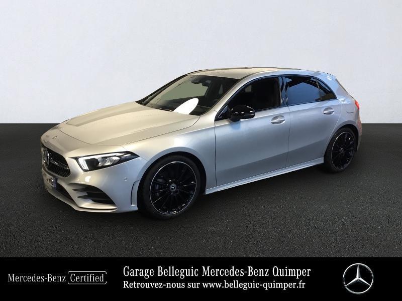 Mercedes-Benz Classe A 180 136ch AMG Line Essence argent iridium Occasion à vendre