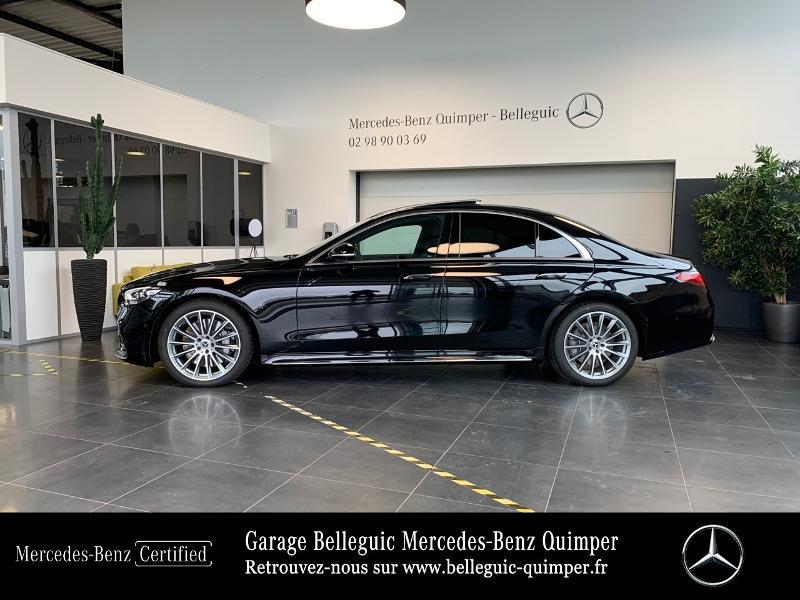 Photo 2 de l'offre de MERCEDES-BENZ Classe S 400 d 330ch AMG Line 4Matic 9G-Tronic à 119900€ chez Garage Belleguic - Mercedes-Benz Quimper