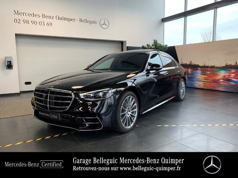 Photo 26 de l'offre de MERCEDES-BENZ Classe S 400 d 330ch AMG Line 4Matic 9G-Tronic à 119900€ chez Garage Belleguic - Mercedes-Benz Quimper