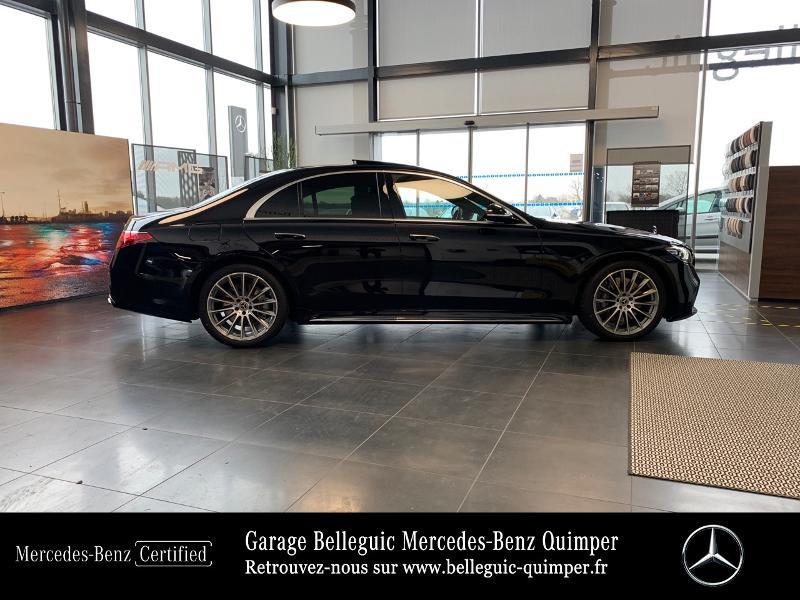 Photo 4 de l'offre de MERCEDES-BENZ Classe S 400 d 330ch AMG Line 4Matic 9G-Tronic à 119900€ chez Garage Belleguic - Mercedes-Benz Quimper