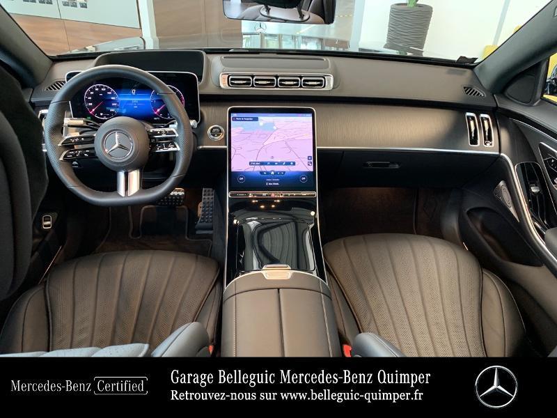 Photo 6 de l'offre de MERCEDES-BENZ Classe S 400 d 330ch AMG Line 4Matic 9G-Tronic à 119900€ chez Garage Belleguic - Mercedes-Benz Quimper
