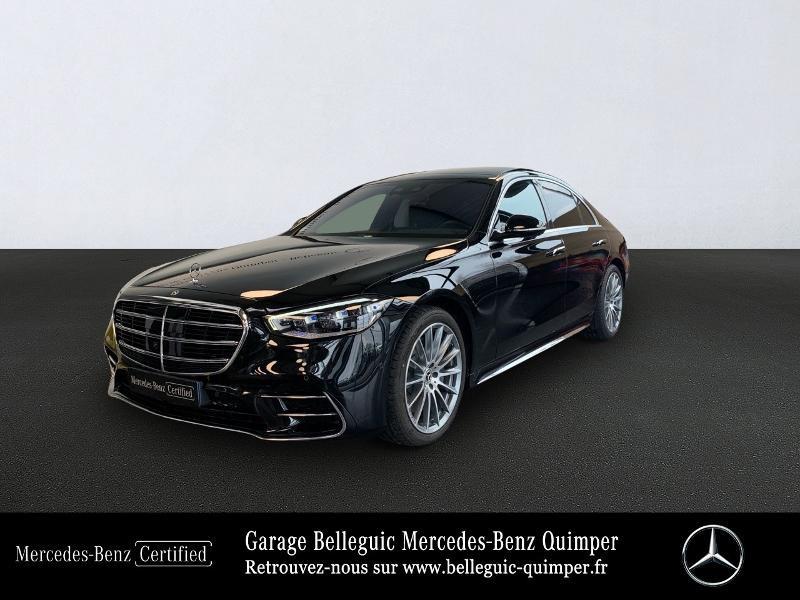Photo 1 de l'offre de MERCEDES-BENZ Classe S 400 d 330ch AMG Line 4Matic 9G-Tronic à 119900€ chez Garage Belleguic - Mercedes-Benz Quimper