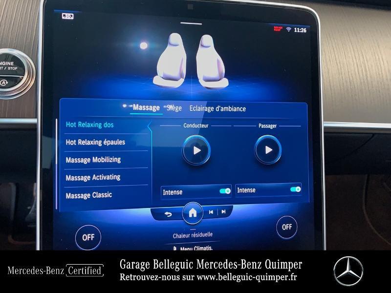 Photo 19 de l'offre de MERCEDES-BENZ Classe S 400 d 330ch AMG Line 4Matic 9G-Tronic à 119900€ chez Garage Belleguic - Mercedes-Benz Quimper