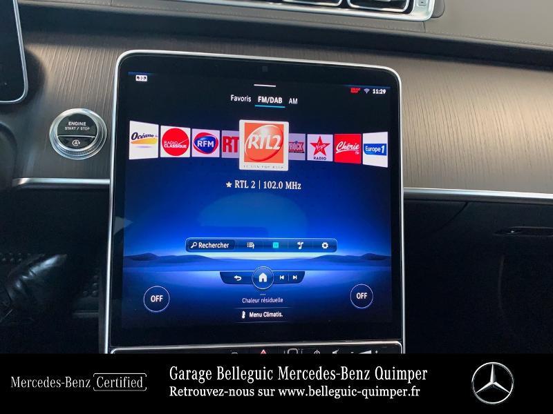Photo 21 de l'offre de MERCEDES-BENZ Classe S 400 d 330ch AMG Line 4Matic 9G-Tronic à 119900€ chez Garage Belleguic - Mercedes-Benz Quimper