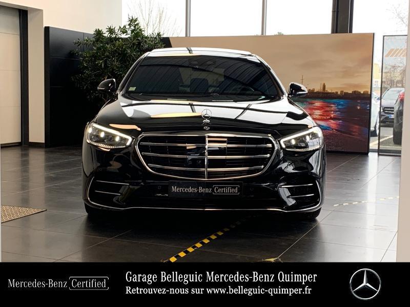 Photo 5 de l'offre de MERCEDES-BENZ Classe S 400 d 330ch AMG Line 4Matic 9G-Tronic à 119900€ chez Garage Belleguic - Mercedes-Benz Quimper