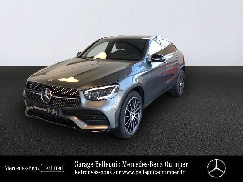 Mercedes-Benz GLC Coupe 220 d 194ch AMG Line 4Matic 9G-Tronic Diesel Gris sélénite métallisé Occasion à vendre