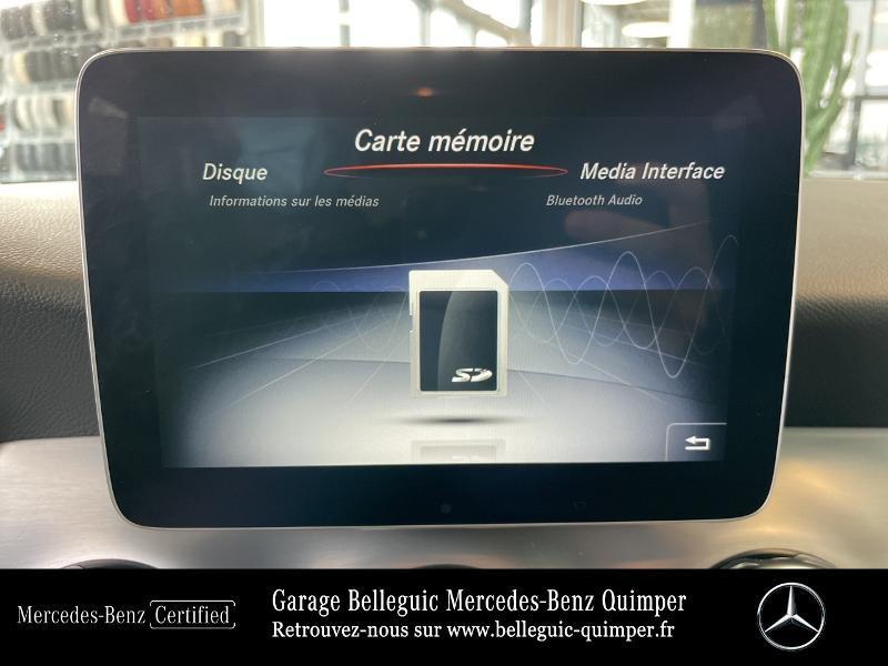 Photo 23 de l'offre de MERCEDES-BENZ Classe GLA 180 d Fascination 7G-DCT à 27490€ chez Garage Belleguic - Mercedes-Benz Quimper