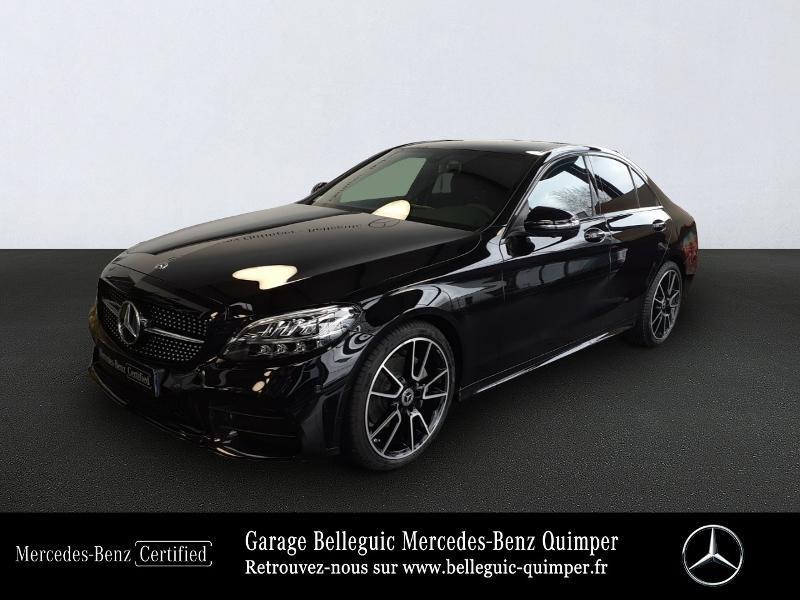 Photo 1 de l'offre de MERCEDES-BENZ Classe C 220 d 194ch AMG Line 9G-Tronic à 45900€ chez Garage Belleguic - Mercedes-Benz Quimper