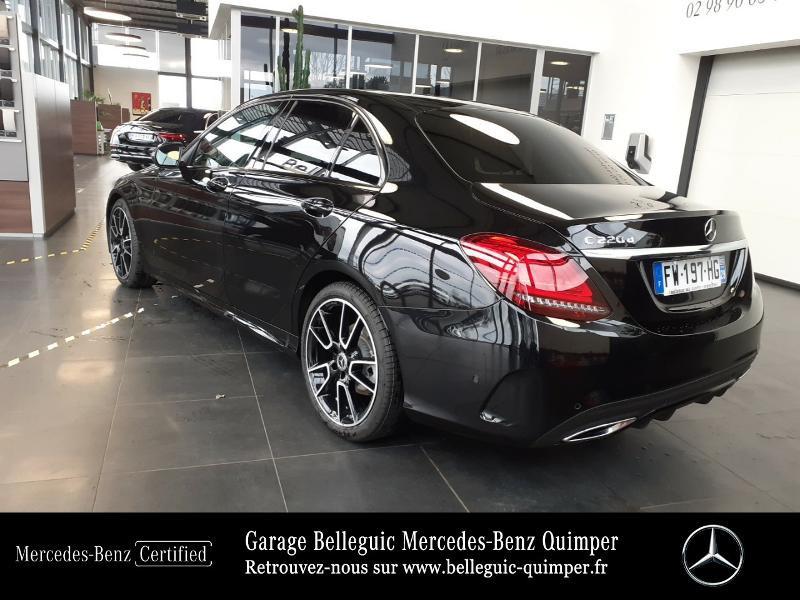 Photo 3 de l'offre de MERCEDES-BENZ Classe C 220 d 194ch AMG Line 9G-Tronic à 45900€ chez Garage Belleguic - Mercedes-Benz Quimper
