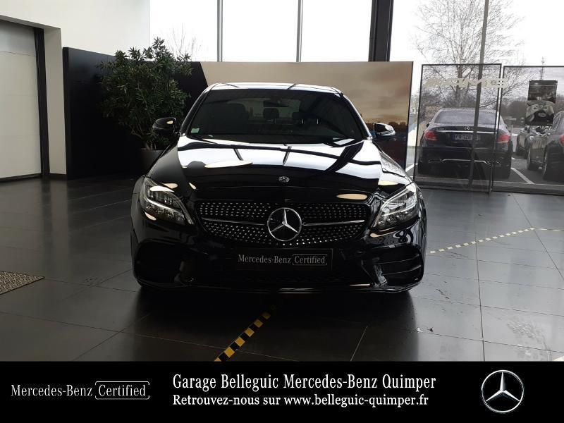 Photo 5 de l'offre de MERCEDES-BENZ Classe C 220 d 194ch AMG Line 9G-Tronic à 45900€ chez Garage Belleguic - Mercedes-Benz Quimper