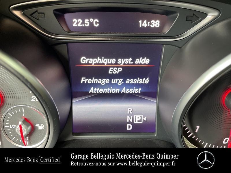 Photo 19 de l'offre de MERCEDES-BENZ Classe GLA 180 d Sensation 7G-DCT à 26390€ chez Garage Belleguic - Mercedes-Benz Quimper