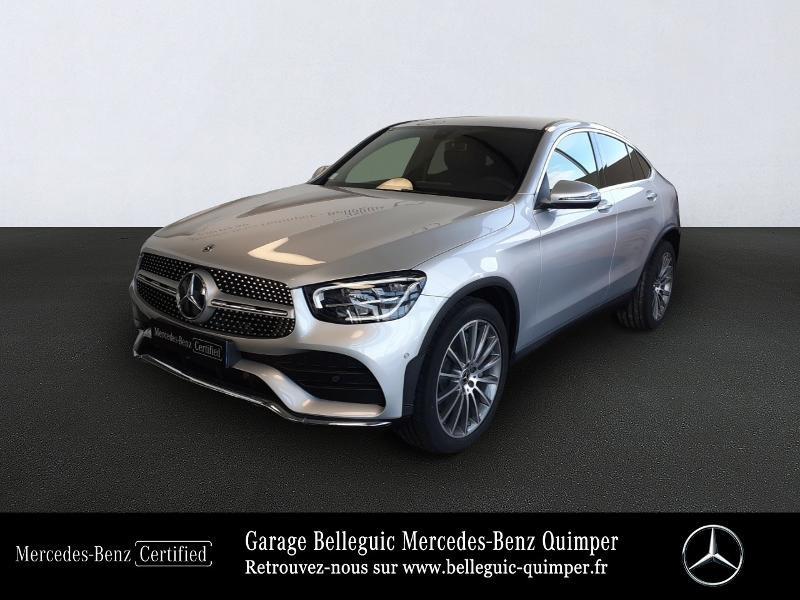 Mercedes-Benz GLC Coupe 300 d 245ch AMG Line 4Matic 9G-Tronic Diesel Argent Iridium métal Occasion à vendre