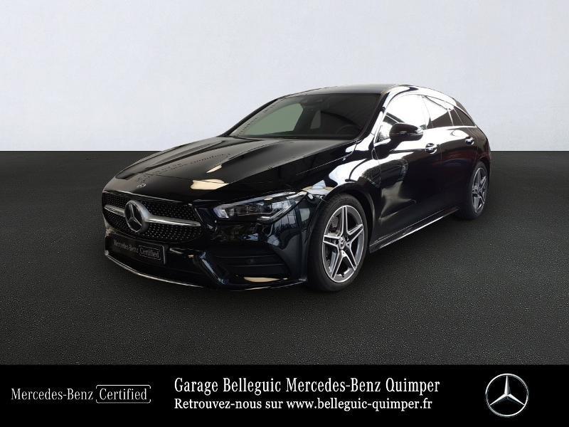 Mercedes-Benz CLA Shooting Brake 200 d 150ch AMG Line 8G-DCT Diesel Noir Cosmos Métal Occasion à vendre