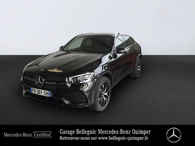 Mercedes-Benz GLC Coupe 300 de 194+122ch AMG Line 4Matic 9G-Tronic Hybride Noir Obsidienne métal Occasion à vendre