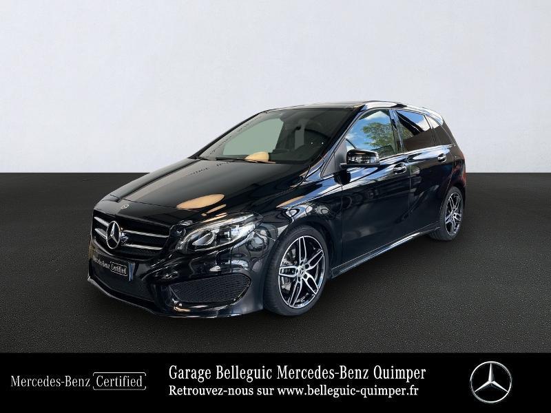Mercedes-Benz Classe B 180 d 109ch Fascination 7G-DCT Diesel Noir Cosmos Métal Occasion à vendre