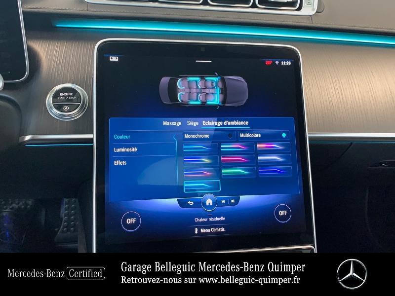 Photo 20 de l'offre de MERCEDES-BENZ Classe S 400 d 330ch AMG Line 4Matic 9G-Tronic à 119900€ chez Garage Belleguic - Mercedes-Benz Quimper