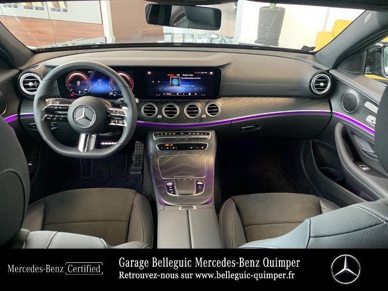 Photo 6 de l'offre de MERCEDES-BENZ Classe E 220 d 194ch AMG Line 9G-Tronic à 56900€ chez Garage Belleguic - Mercedes-Benz Quimper