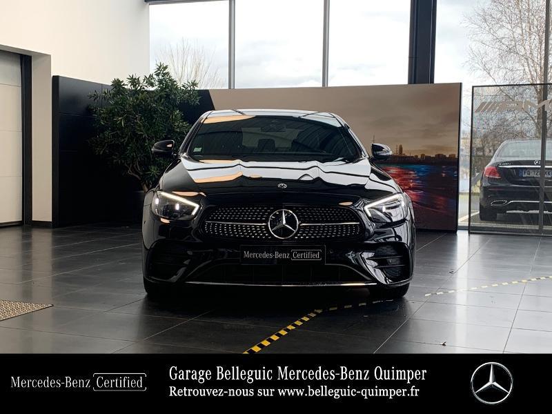 Photo 5 de l'offre de MERCEDES-BENZ Classe E 220 d 194ch AMG Line 9G-Tronic à 56900€ chez Garage Belleguic - Mercedes-Benz Quimper