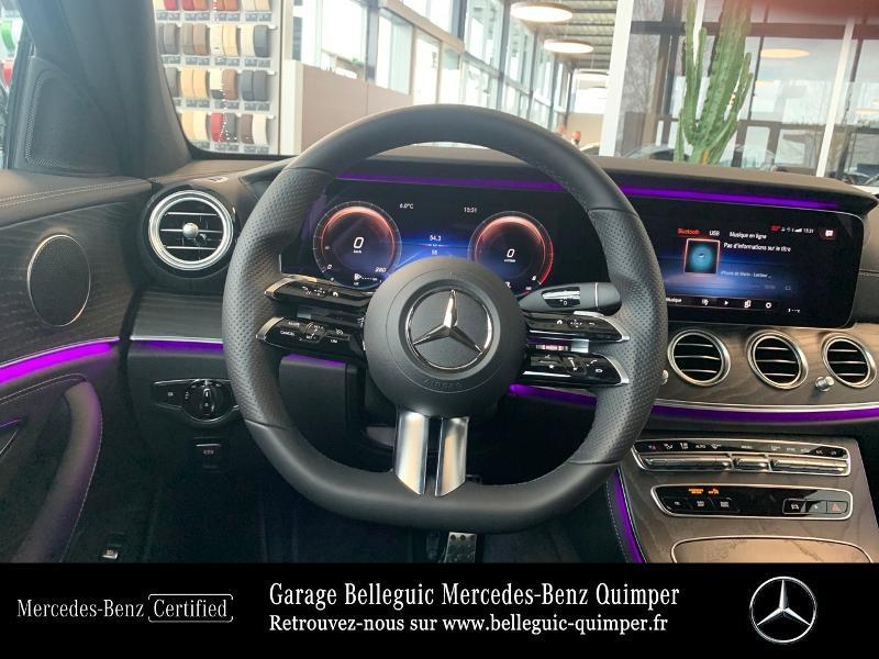 Photo 7 de l'offre de MERCEDES-BENZ Classe E 220 d 194ch AMG Line 9G-Tronic à 56900€ chez Garage Belleguic - Mercedes-Benz Quimper